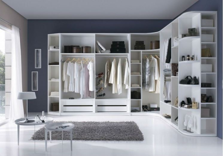 le cabine armadio su misura cabine armadio. Black Bedroom Furniture Sets. Home Design Ideas