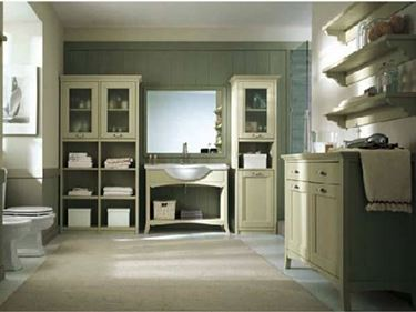 Mobili bagno country arredo bagno for Arredo country