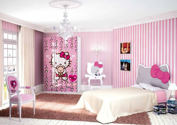 Composizione cial international con Hello Kitty