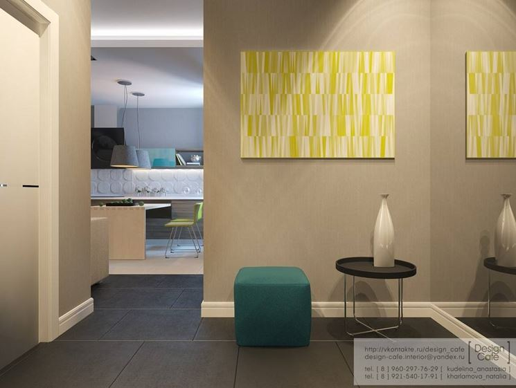 Mobili ingresso complementi arredo for Foyer designs for apartments india