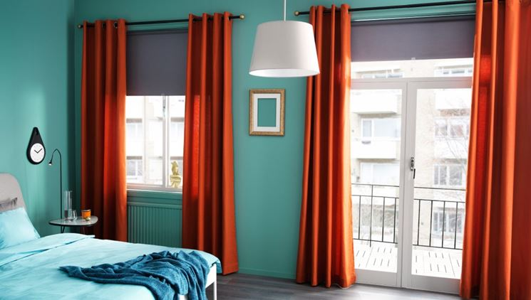 Tende ikea belle colorate e moderne complementi arredo - Tende ikea camera da letto ...
