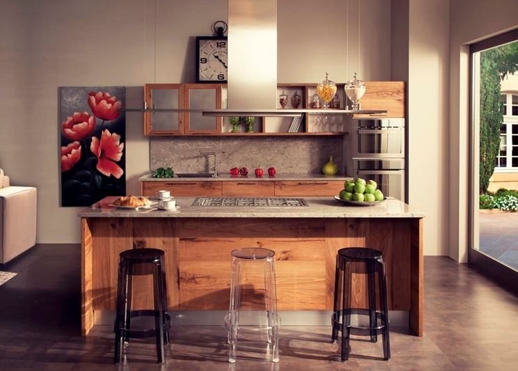 cucina piccola con isola consigli cucine. Black Bedroom Furniture Sets. Home Design Ideas