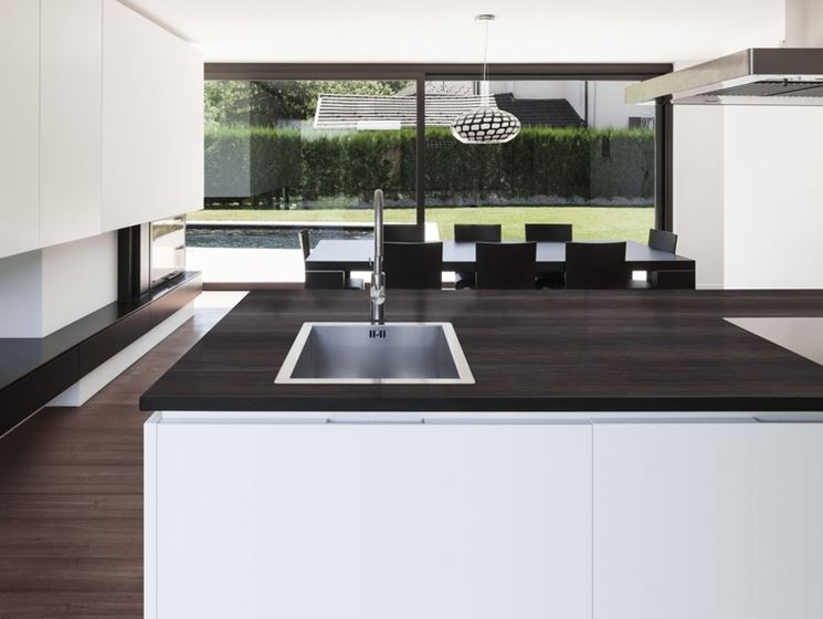L'innovativo piano cucina in Dekton