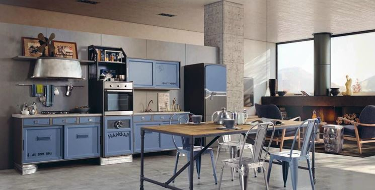cucina americana Happy Days di Garnero Design