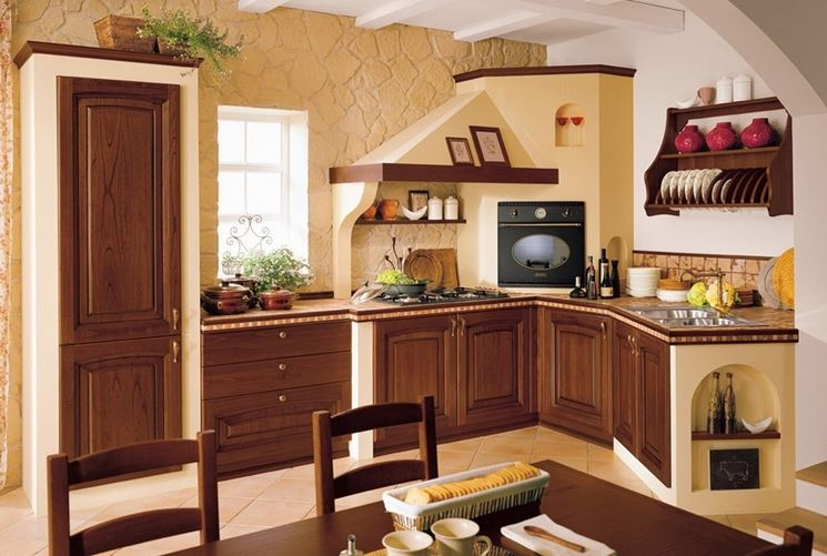 Cucina in muratura country cucine country for Cucine in muratura country immagini
