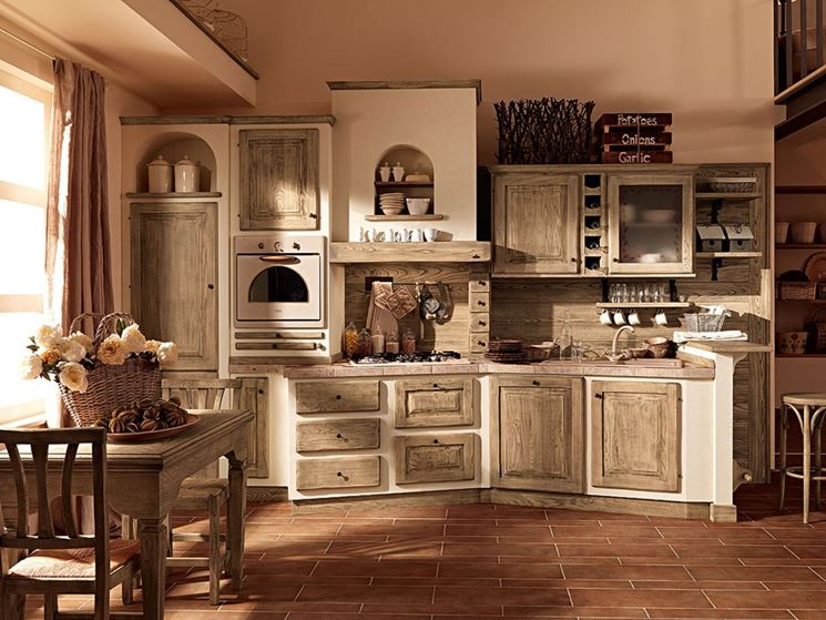 Emejing Idee Per Cucina In Muratura Photos - Ideas & Design 2017 ...