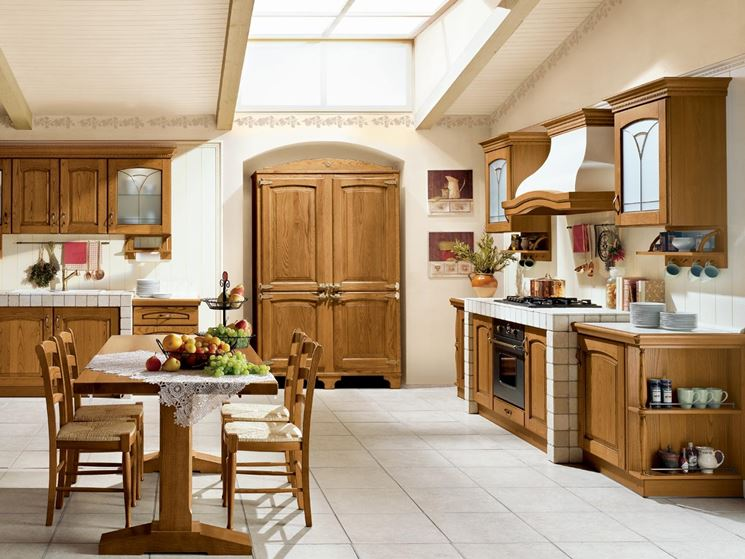 cucine rustiche country cucine country