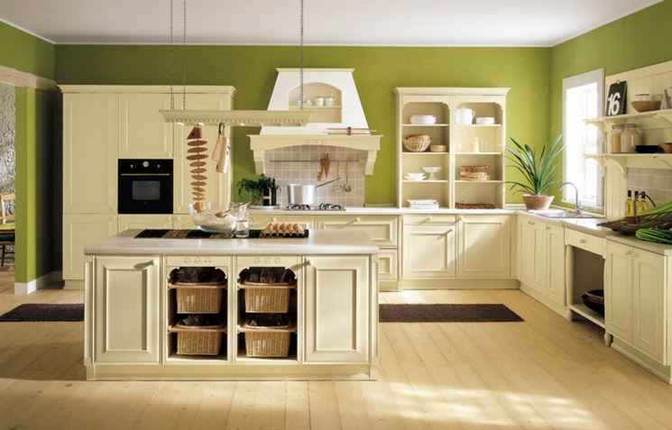 Cucine Country Moderne ~ Idea Creativa Della Casa e Dell\'interior Design