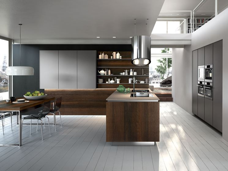 Idee open space top vetrate e piscina open space with for Open space cucina soggiorno idee