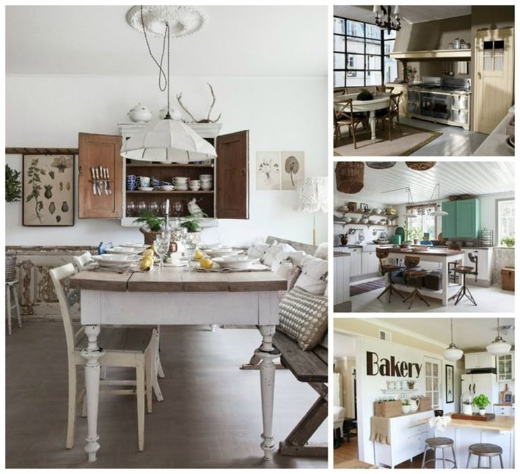 Cucina shabby chic cucine moderne for Cuisine country chic