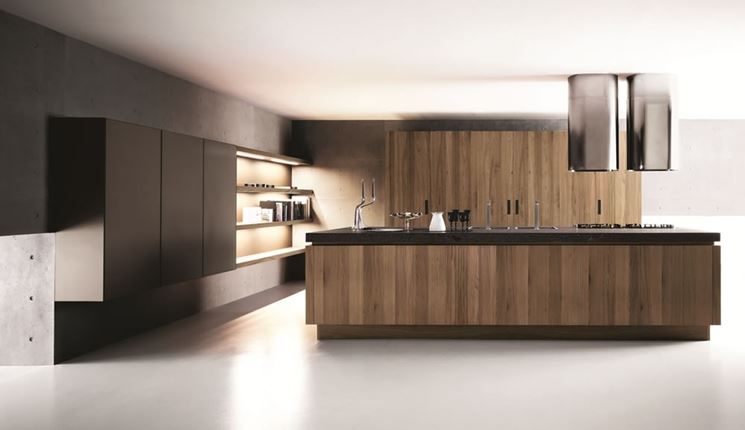 Cucine con isola centrale cucine moderne for Cucine moderne con isola
