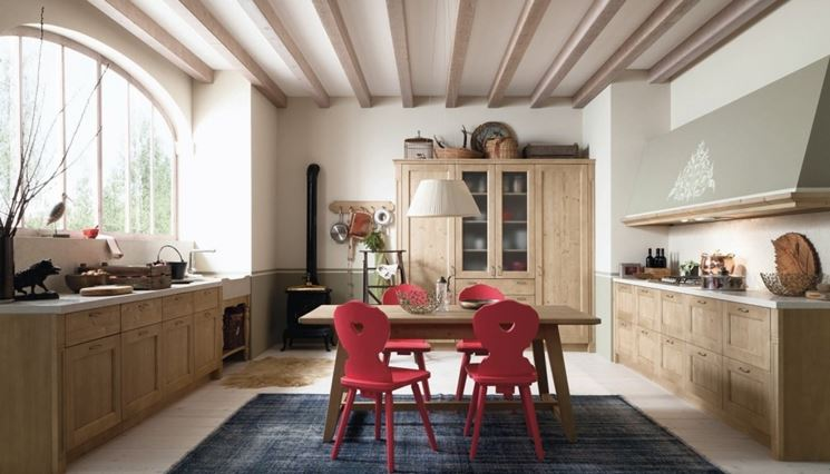 Cucine country moderne
