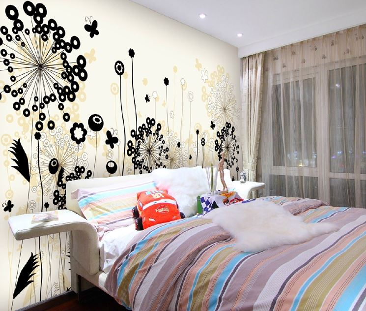 Emejing Decorazioni Pareti Camera Da Letto Gallery - Design and ...