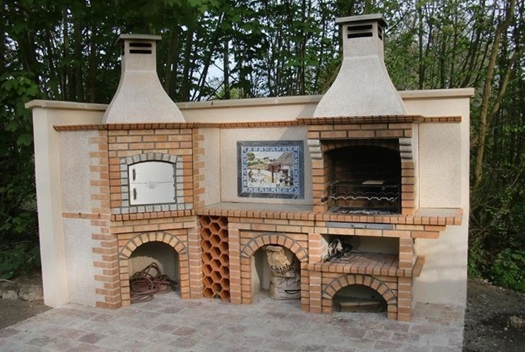 Come costruire barbecue barbecue for Construire un barbecue en pierre refractaire