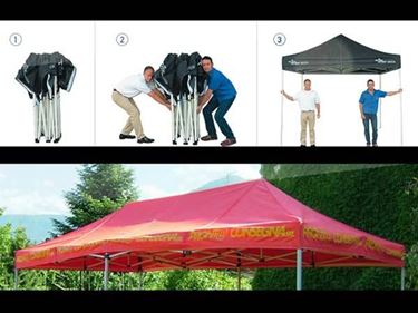 gazebo tendsystem