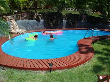 Piscina per giardino interrata Calterristeam