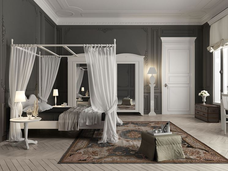 Camere da letto rustiche camere matrimoniali for Arredamento english