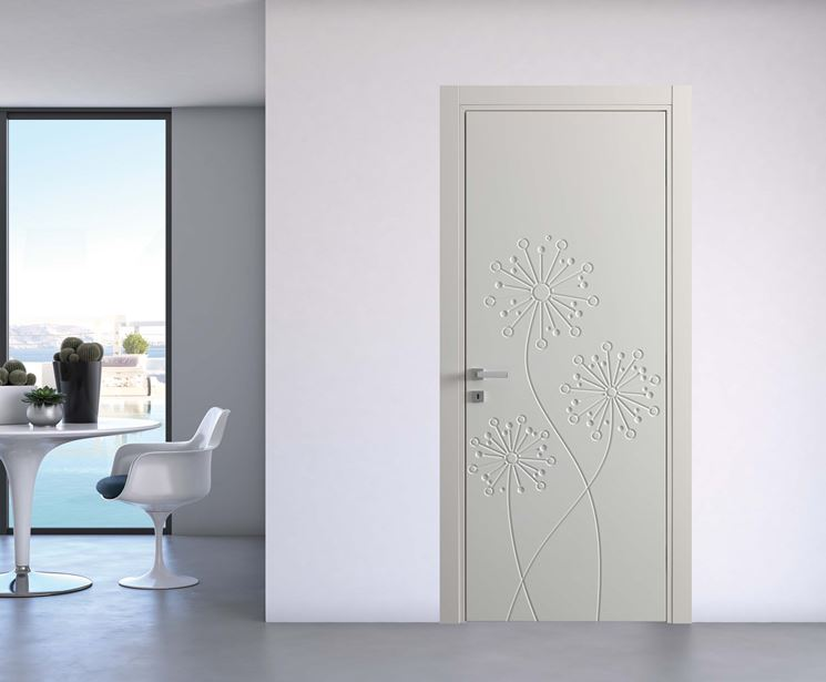 Porte per interno porte interne - Porte decorate per interni ...