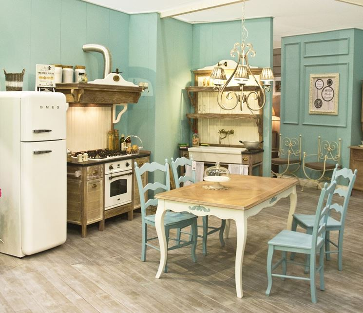 cucina in stile Country Chic
