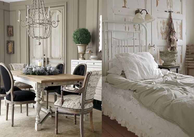 stile shabby progetto. Black Bedroom Furniture Sets. Home Design Ideas